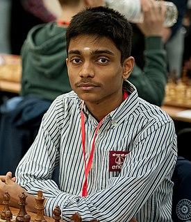 Aravindh Chithambaram Indian chess grandmaster