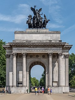 triumphal arch in London