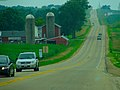 Looking West On County Trunk Highway V - panoramio.jpg