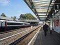 Looking from the platform on Havant Railway Station towards Bedhampton - geograph.org.uk - 825486.jpg