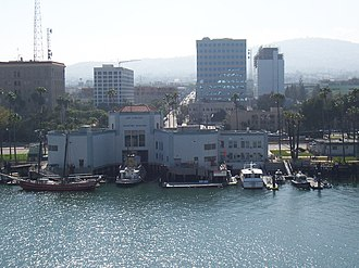 Los Angeles Maritime Museum - Los Angeles Maritime Museum seen from the Los Angeles Harbor main channel.