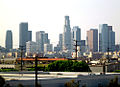 Los Angeles from Santa Ana Freeway; 2005.jpg