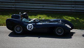 Lotus Mark IX - Lotus IX at a modern vintage race