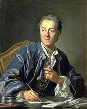 Diderot participe à la polémique avec ses collègues de l EncyclopédiePortrait peint en 1767 par Louis-Michel van Loo, Musée du Louvre
