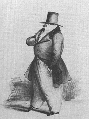 Louis-Désiré Véron - Sketch of Louis Véron