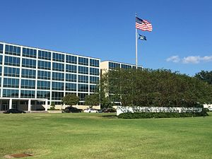 Louisiana Department of Transportation and Development - The DOTD Headquarters building in downtown Baton Rouge.
