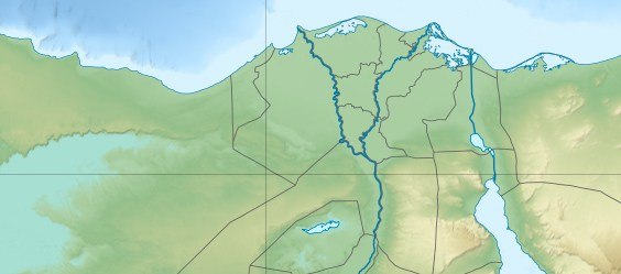 دمیاط در مصر سفلی قرار گرفتهاست