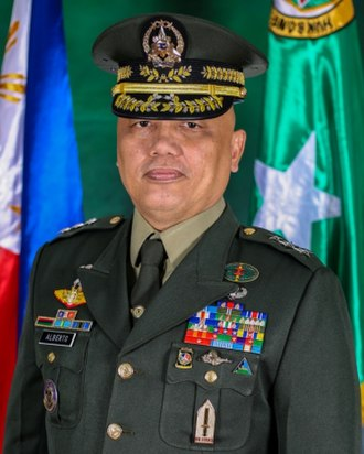 Armed Forces of the Philippines - Image: Lt. Gen. Macairog Sabiniano Alberto AFP