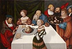 Lucas Cranach the Elder: The Feast of Herod
