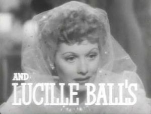 The Big Street - Lucille Ball in the film's trailer