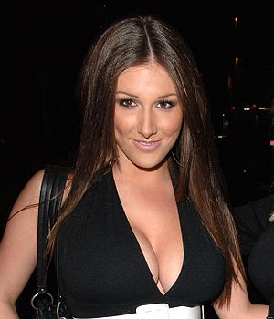 Picture of Lucy Pinder, snapped leaving the FH...