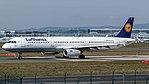 Lufthansa Airbus A321-200 (D-AISQ) at Frankfurt Airport.jpg
