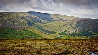 Wicklow Mountains - Lugnaquilla, Wicklow's highest mountain
