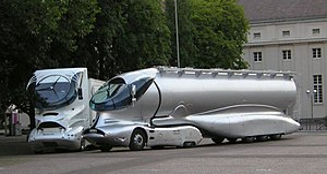 Luigi Colani - Truck prototype Designs by Colani