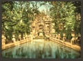 Luxembourg Gardens, the Medici fountains, Paris, France-LCCN2001698553.tif