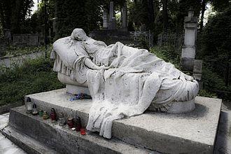 Lychakiv Cemetery - Grave of Józefina Markowska