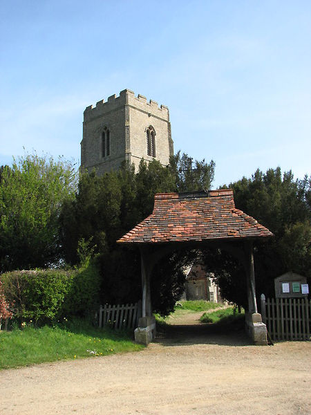 File:Lychgate and tower of St Botholph's church - geograph.org.uk - 773298.jpg