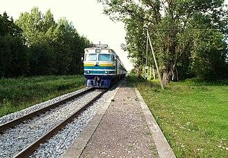 Puka Parish - Image: Mägiste raudteepeatus 2010