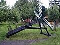 Münkeboe Dorfmuseum Fluttermühle.JPG