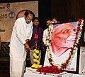 M. Venkaiah Naidu lighting the lamp at the 141st Birth Anniversary Celebrations of Shri Pingali Venkaiah, the designer of Indian National Flag.JPG