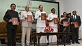 M. Venkaiah Naidu releasing the coffee table book 'THOSE EVENTFUL DAYS', authored by the Governor of Maharashtra, Shri C. Vidyasagar Rao, at the inauguration of the 400kWp Solar Power Plant at Raj Bhavan, in Chennai.jpg