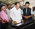 "M. Venkaiah Naidu visiting after inaugurating the ""Saath Hai Vishwaas Hai, Ho Raha Vikas Hai"" Exhibition of DAVP, at Sarojini Nagar, in New Delhi (3).jpg"