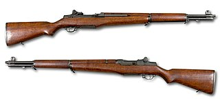 M1 Garand Semi-automatic rifle