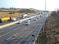 M1 motorway southbound near Strelley - geograph.org.uk - 1770616.jpg