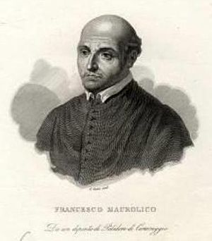 Francesco Maurolico - Portrait of Francesco Maurolico.