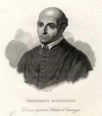 Francesco Maurolico - Portrait of Francesco Maurolico.