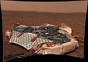MER Spirit Lander Pan Sol16-A18R1 br2