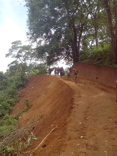 MGNREGA Tripura Dhalai Earth cutting road work 2014