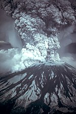 Mount St. Helens erupted on May 18, 1980, at 08:32 a.m. Pacific Daylight Time.