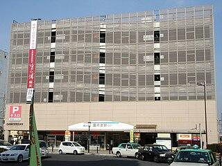 Kōnomiya Station Railway station in Inazawa, Aichi Prefecture, Japan