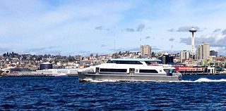Passenger ferry service in King County, Washington