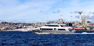 King County Water Taxi - Image: MV Sally Fox