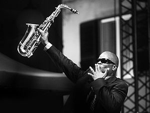 Maceo Parker - Maceo Parker at the Liri Blues Festival, Italy, in 2009