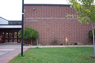 William Lyon Mackenzie Collegiate Institute High school in Downsview, Toronto, Ontario, Canada