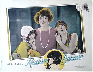 Madame Behave - Lobby card