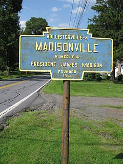 Madison Township, Lackawanna County, Pennsylvania Place in Pennsylvania, United States