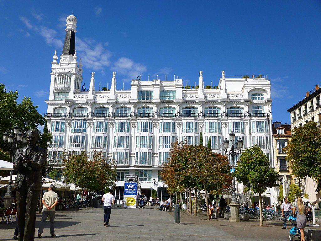 File Madrid Plaza De Santa Ana Hotel Me Madrid Reina