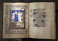 Maestro del roman de la rose, libro d'ore, luglio (visitazione), lione 1425-50 ca. 01.JPG