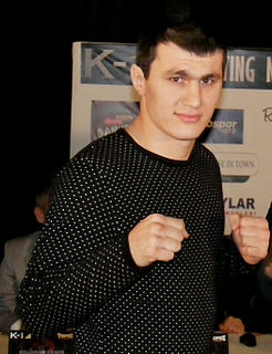 Magomed Magomedov Russian martial artist