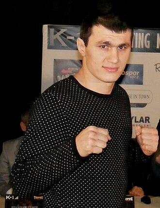 Magomed Magomedov - Image: Magomed Magomedov (kickboxer)