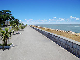 Mahajanga - The coast promenade in 2008