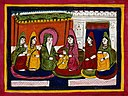 Maharaja Ranjit Singh with wives Wellcome V0045197.jpg