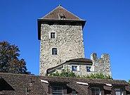 Maienfeld Brandis Turm