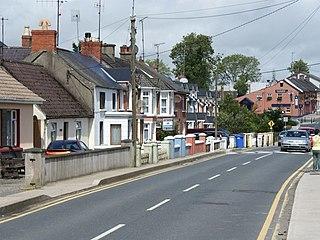 Riverchapel Village in Leinster, Ireland
