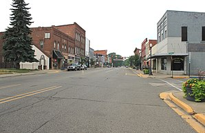Main Street in Milan (Michigan)