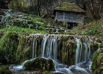 Povlen - Cascades at the Taor springs